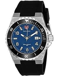 Swiss Eagle Analog Blue Dial Men's Watch - SE-9039-02