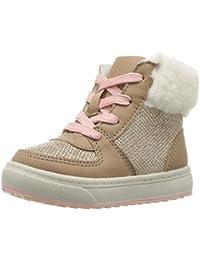 OshKosh B'Gosh Kids' Sporty Girl's High Top Sherpa Sneaker Fashion Boot