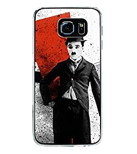 Printvisa Vintage Comedian Pic Back Case Cover for Samsung Galaxy S6 Edge+ G928::Samsung Galaxy S6 Edge Plus G928F