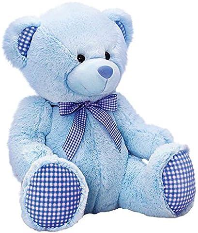 Original Keel bébé Jouet en peluche animal ours rose, bleu ou Beige peluche ourson assis 25cm