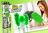 #5: Krevia Motorized Electric Go Duster Wet and Dry Duster Set
