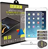 Apple iPad Air - Tempered Glass LCD Screen Protector Guard & Polishing Cloth
