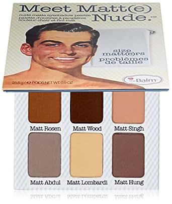 THEBALM Palette Meet Matte Nude, 25,5 g