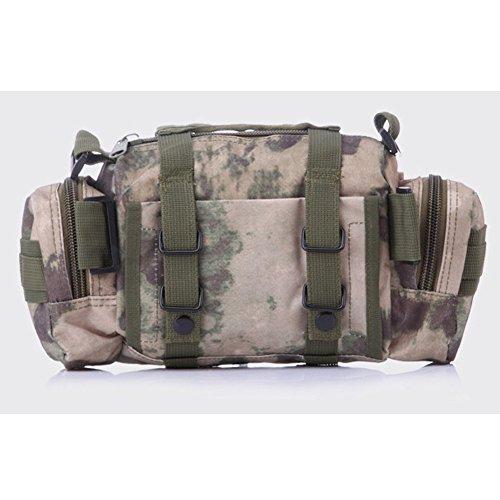ELEAR® Utility Tactical Bag Marsupio Outdoor Borsa a tracolla Zaino tattici militari Sport all'aperto Campeggio Escursioni fango rovine Camouflage