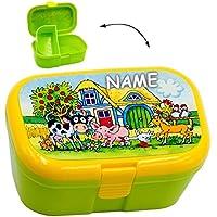 alles-meine.de GmbH Lunchbox / Brotdose - Bauernhof & Tiere - mit Extra Einsatz / herausnehmba.. preisvergleich bei kinderzimmerdekopreise.eu
