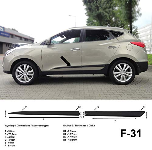 GOZAR H/élice Antenne H/élico/ïdale Pour Hyundai Ix35 I30 Toyota Honda Tucson Kia