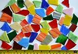 Tiffany-Glas Bruchmosaik Steine unbearbeitet bunt klein 200g