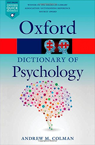 A Dictionary of Psychology 4/e (Oxford Quick Reference) par Andrew M. Colman