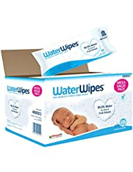 WaterWipes Baby Wipes Sensitive Skin, 12 packs x 60 wipes (720 wipes)