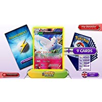 TOGEKISS reverse holo Alf Art 46/108 130HP XY06 ROARING SKIES - Optimized THUNDERBOLT booster cards - 10 English Pokemon trading cards