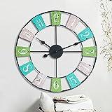 Rural forja simple reloj de pared/ relojes de decoración del hogar-A 20pulgada
