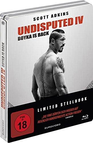 Undisputed IV - Boyka Is Back (Steelbook) [Blu-ray]