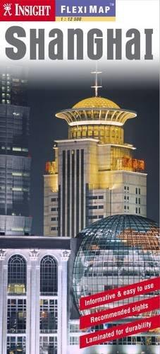 Insight Flexi Map: Shanghai por Amc Books