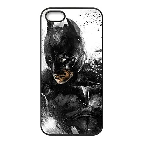 Batman coque iPhone 4 4S Housse téléphone Noir de couverture de cas coque EBDOBCKCO09934