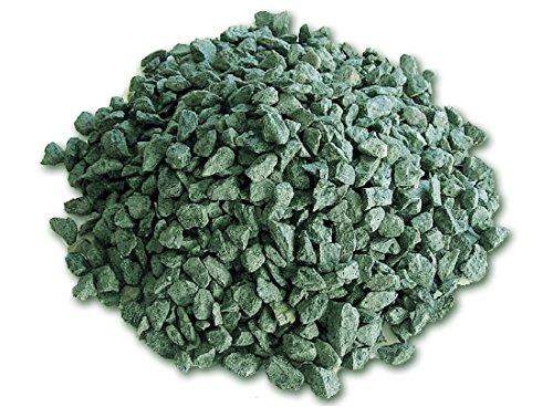 metroquadrocasa graniglia di marmo verde alpi 8/12 mm 25 kg sassi pietre arredo giardino vasi