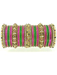 YouBella Traditional Bridal Jewellery Gold Plated Chura /Chuda Bangles Jewellery For Women And Girls