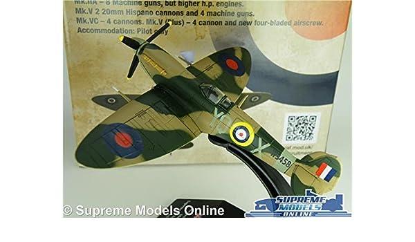 SUPERMARINE SPITFIRE MODEL AIRPLANE AIRCRAFT 1:72 SIZE 1941 RAF BATTLE BRITAIN T