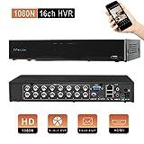 Evtevision 16 Kanal 1080P Lite Digitaler Videorekorder NVR DVR H. 264 CCTV Motion Detection E-Mail Sicherheitsalarm P2P Cloud für Überwachungskamera