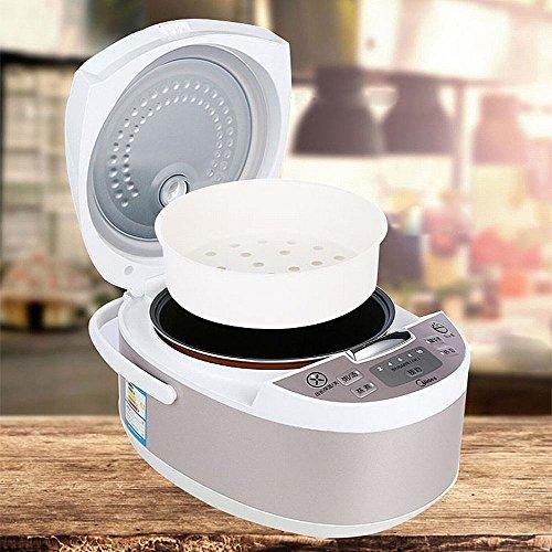 ZH Smart Reiskocher Echtzeit-Dressing Reiskocher Reiskocher,Weiß