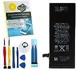 11/2017er Dinocell Ersatz Akku/Batterie für Iphone 6 1810mAh, NEUSTE PRODUKTION 2017, NEU ohne Ladezyklen, inkl. Dinocell Premium Werkzeug 7-teilig sowie Ersatz Klebestreifen Kleber, NEU