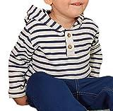 Die besten In der Welt Hoodies - Baby Kinder Langarmshirt Kapuzenshirt 100% Bio-Baumwolle GOTS Kapuzenpullover Bewertungen