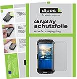 dipos I 2X Schutzfolie matt passend für Doogee S60 Folie Bildschirmschutzfolie
