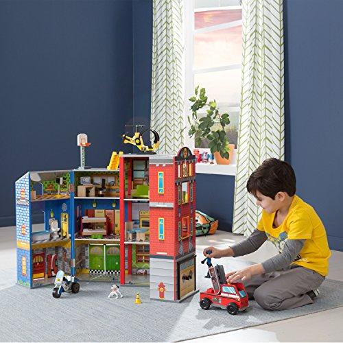 Puppenhaus für Jungen: KidKraft Helden des Alltags - 3