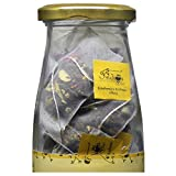 #10: The Indian Chai - Kashmiri Kahwa Chai 15 Nylon Tea Bags, Whole Leaves | Green Tea | With Almond, Cardamom, Clove, Cinnamon, Ginger, Rose Petal & Saffron |