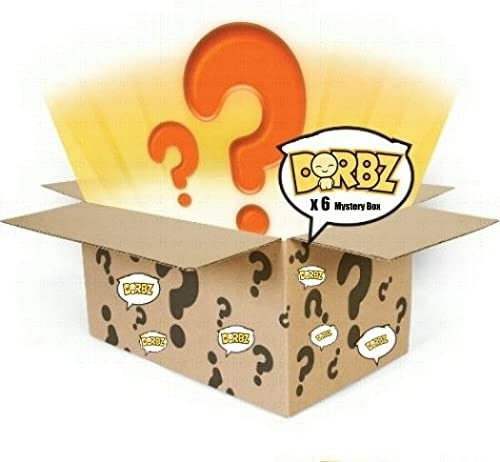 Funko Dorbz Mystery 6 Pack - Random Stylized Vinyl Collectible Figure Set NEW | économie