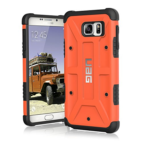 Urban Armor Gear Case For Samsung Galaxy Note 5 - Org  available at amazon for Rs.1299