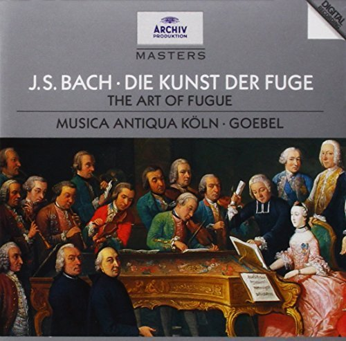J.S. Bach: The Art of Fugue (Die Kunst der Fuge) by Archiv Produktion (2001-12-21) (Kunst 2001)