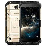 Rugged Outdoor Mobile Phones, DOOGEE S60 4G Dual SIM Unlock Smartphone, IP68 Waterproof 5.2� FHD P25 Octa Core 6GB + 64GB�21MP Rear Camera 5580mAh Battery 12V2A Fast Charge Fingerprint NFC - Gold