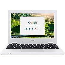 """Acer Chromebook CB3-131-C2V4 11"""" Blanc (Intel Celeron, 2 Go de RAM, Mémoire 16 Go Chrome OS)"""
