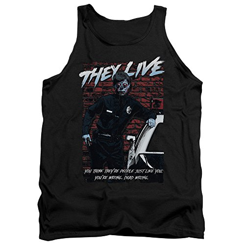 They Live - Herren Dead Wrong Tank Top Black