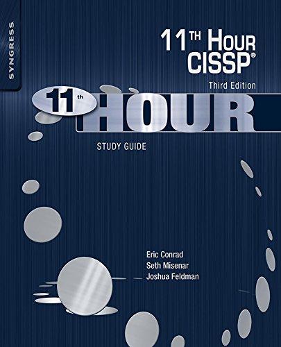 Eleventh Hour CISSP®: Study Guide (English Edition) por Eric Conrad