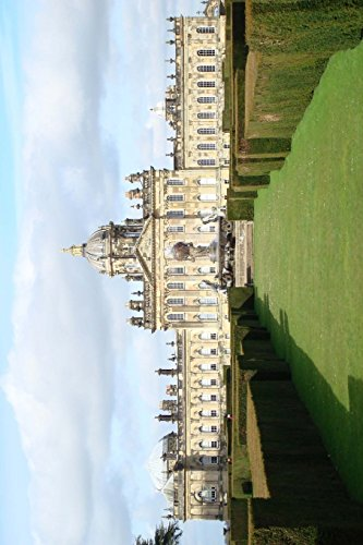 Castle Howard in North Yorkshire England, UK Journal: 150 page lined notebook/diary