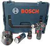 Bosch 0601990EV5 Akkubohrschrauber 0 615 990 EV5 GSR 10.8 V-2-LI und GLI 2 x 1.5 Ah - L-Boxx
