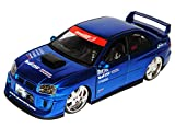 Jada Subaru impreza Wrx Sti Blau Limousine 1/24 Modellauto Modell Auto