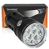 SecurityIng Leistungsstark 4200LM 7x T6LED Taschenlampe