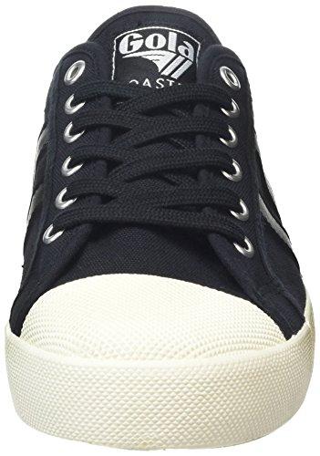 Gola Coaster, Baskets Basses Homme Noir - Black (Black/Black/Off White)