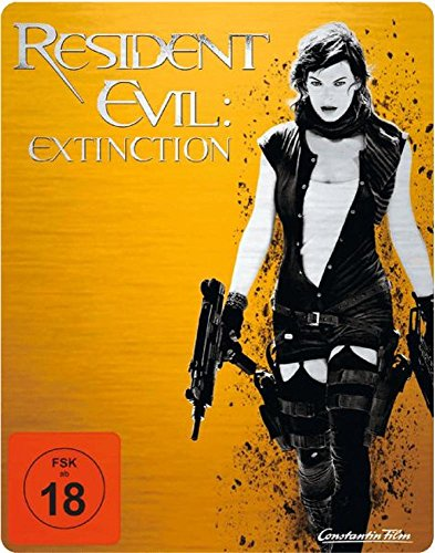 RESIDENT EVIL: EXTINCTION (Blu-ray Disc, Steelbook) Limited Edition