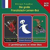 Die große Französisch-Lernen-Box - 3-CD Hörspielbox (Hörspielboxen)