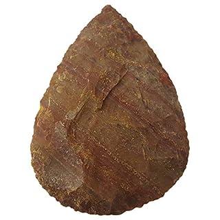 Schlichter feiner Faustkeil 9-10cm Steinzeit Nachbau
