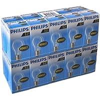 20x Philips AGL Standard Glühlampe 60W E27 230V Gluehbirne klar