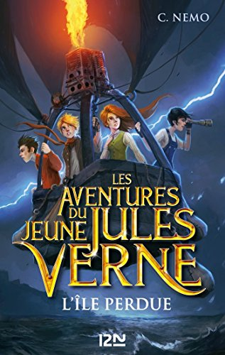 Les Aventures du jeune Jules Verne - tome 1 : L'le perdue