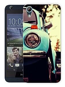 "Humor Gang Old Vintage Car Printed Designer Mobile Back Cover For ""HTC DESIRE 626"" (3D, Matte Finish, Premium Quality, Protective Snap On Slim Hard Phone Case, Multi Color)"