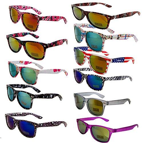 f59bedc3c46c33 Nerd clear paire de lunettes de soleil style wayfarer retro vintage unisexe  au style lunettes atzenbrille