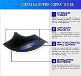 Miracle PA2805 Gepolsteter BH Super Push Up mit Gel Cups für optisch zwei Körbchechengrößen mehr und abnehmbare Trägern von Lady Bella Lingerie -