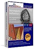 Norwegisch-Aufbaukurs mit Langzeitgedächtnis-Lernmethode von Sprachenlernen24.de: Lernstufen B1+B2. Norwegischkurs für Fortgeschrittene. PC CD-ROM+MP3-Audio-CD für Windows 8,7,Vista,XP/Linux/Mac OS X