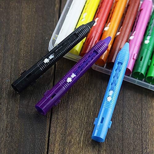 Supererm 16 Farbe Body Painting Pen Push-Pull Buntstift Prom Gesicht Make-up-Stick Für Kinder Kleinkinder Erwachsenen